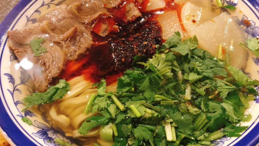 蘭州牛肉麺