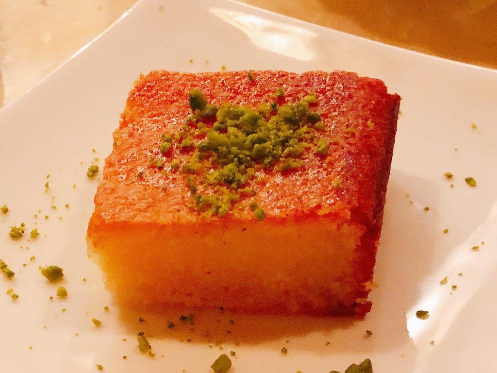 セモリナケーキ